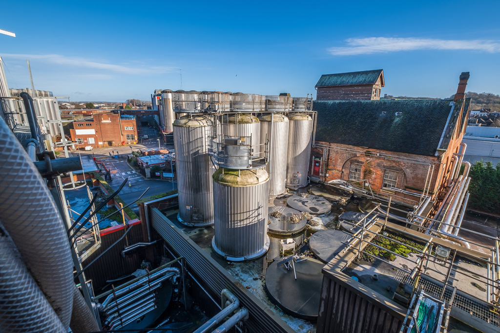 Molson Coors 'South Brewery', Burton-on-Trent, Staffordshire - December 2020