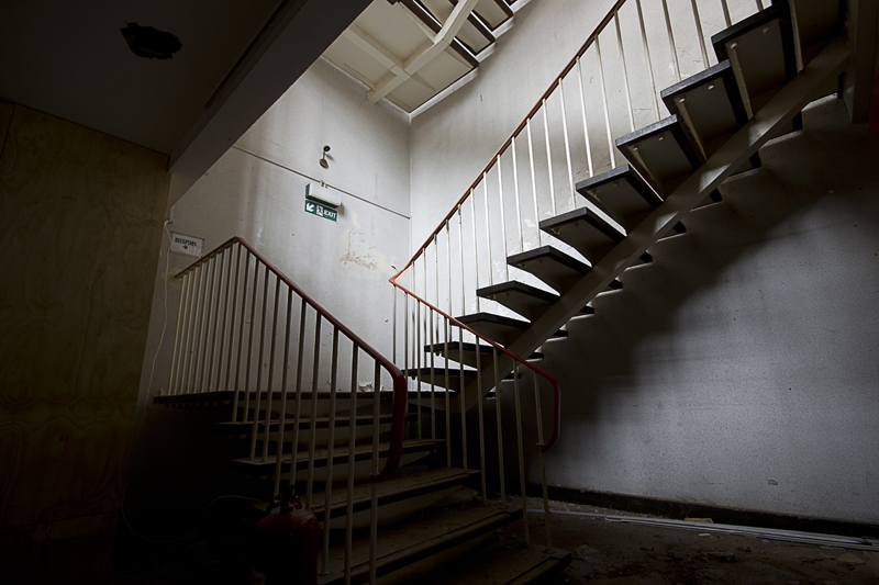 A nice stairway.