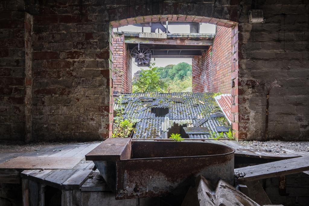 Bretby Brick & Stoneware Company (Klondyke Works), Swadlincote - October 2019