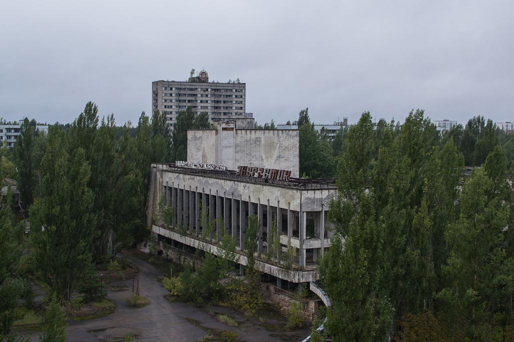 Racing Around Pripyat [Part 1]