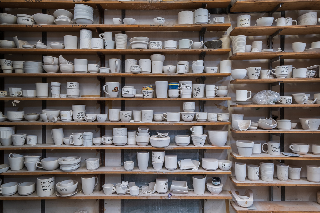 Dudson Pottery, Stoke on Trent - Summer 2019