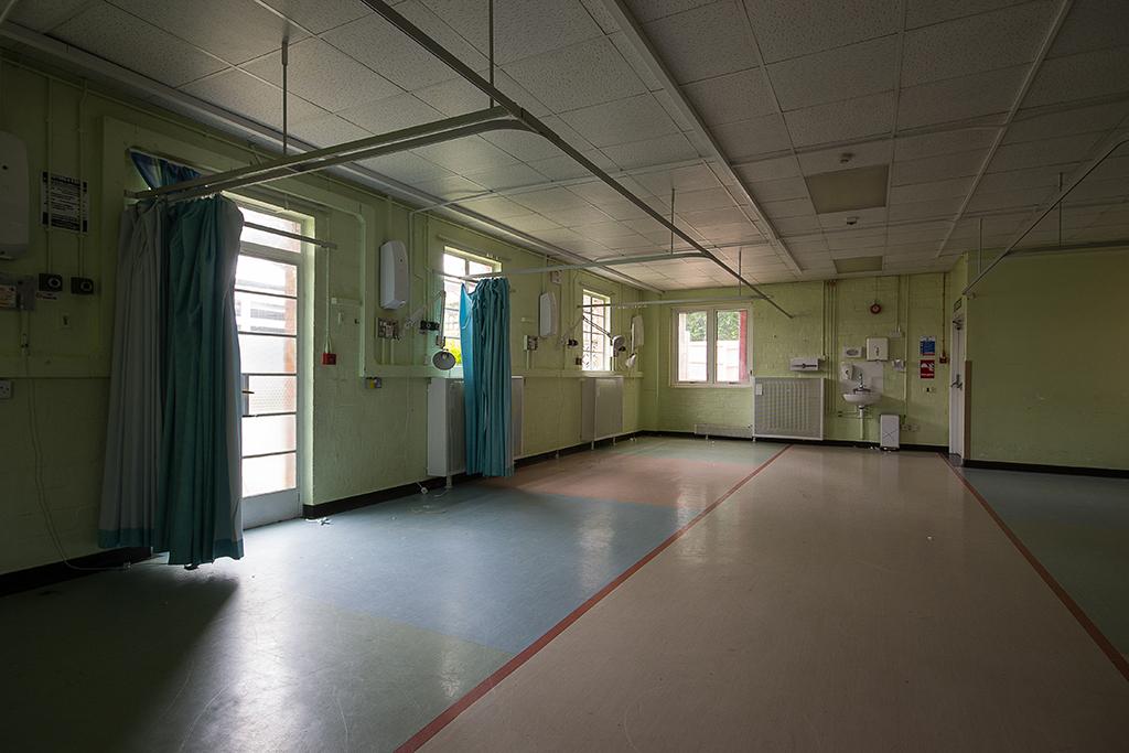 An empty ward