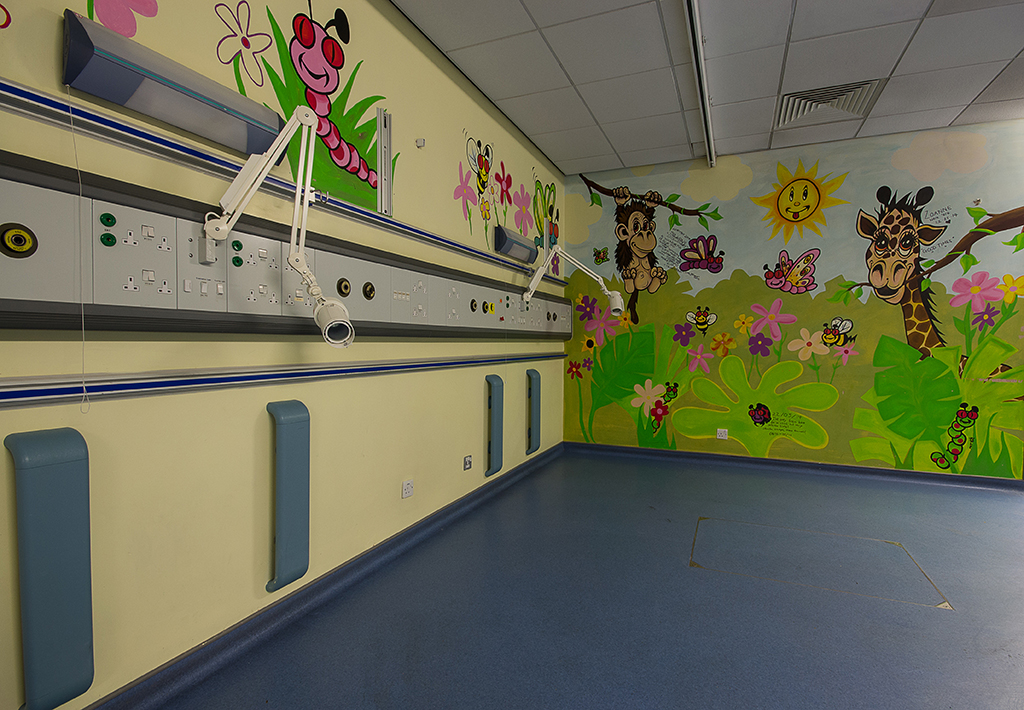 One of the children's wards