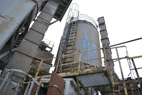 An old silo.