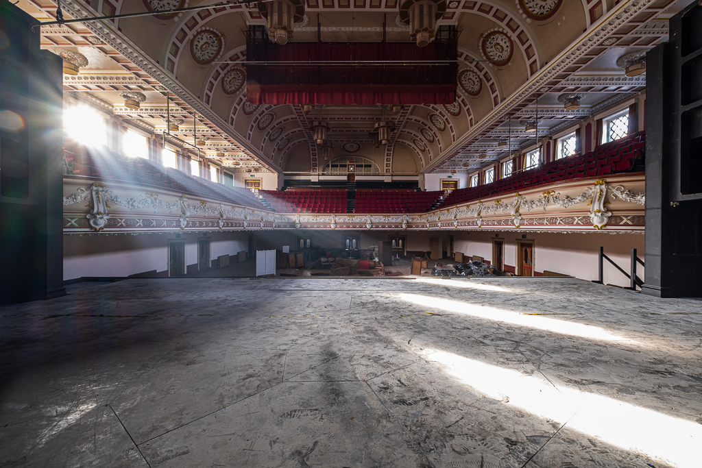 Queen's Theatre and Princes Hall, Stoke-on-Trent - November 2020