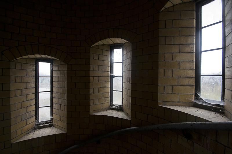 Almost castle like windows.