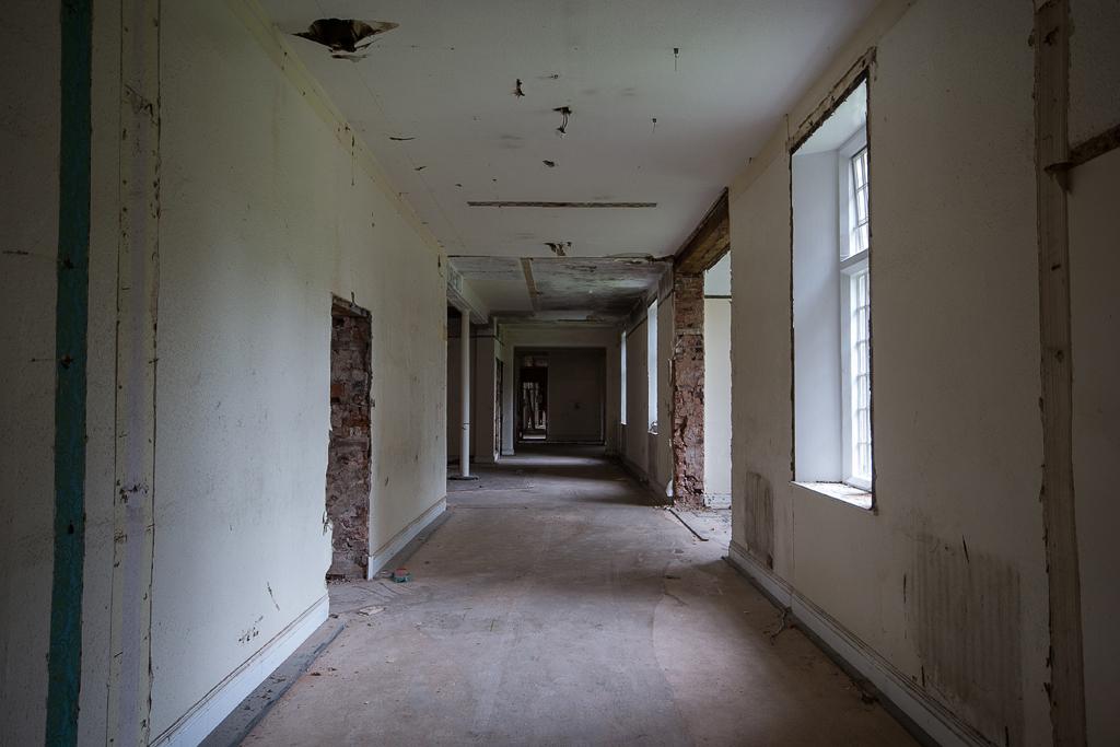Corridor under reconstruction.