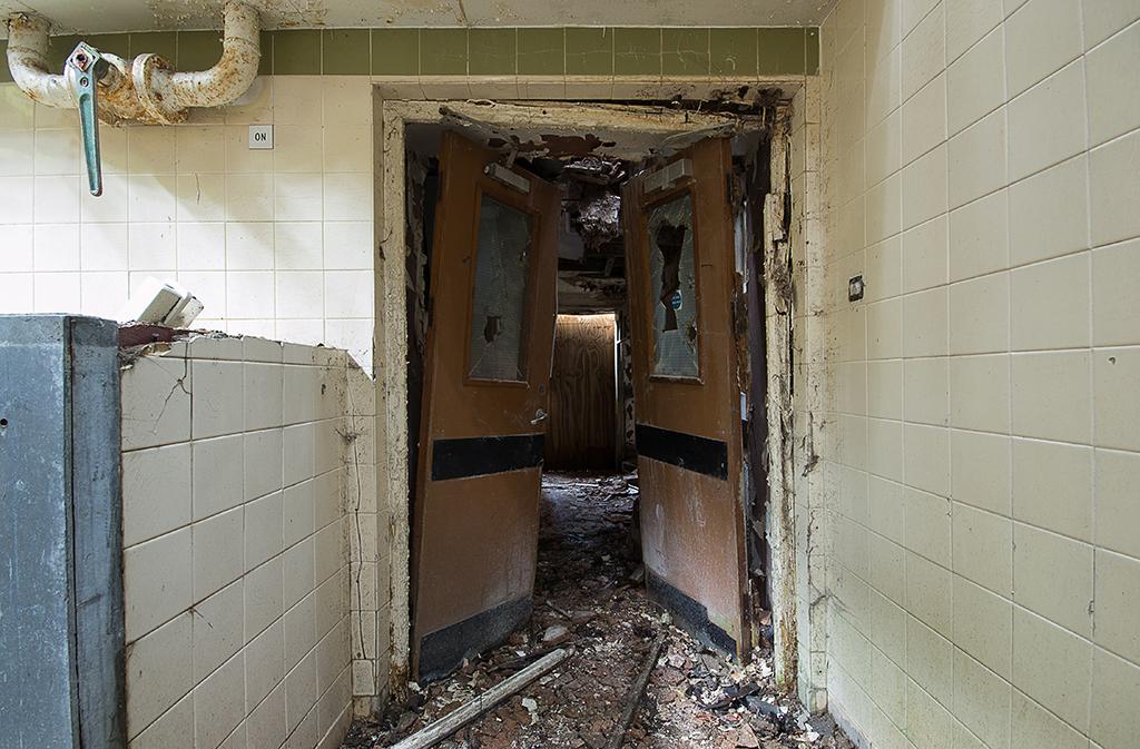 Doorway Through to Butchery