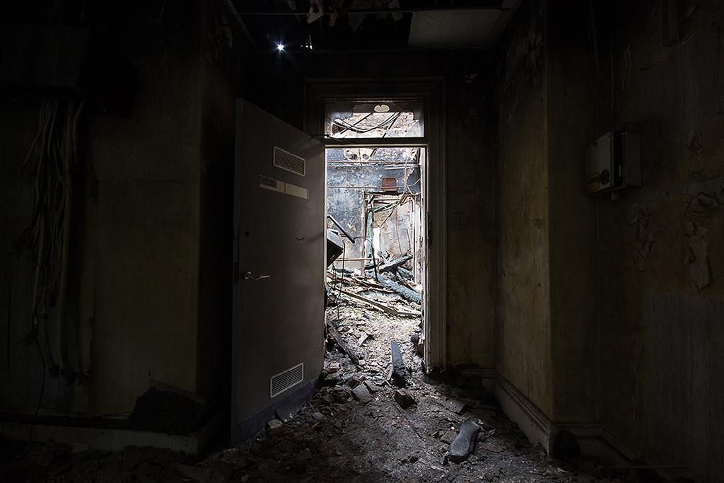 Looking into the Corridor