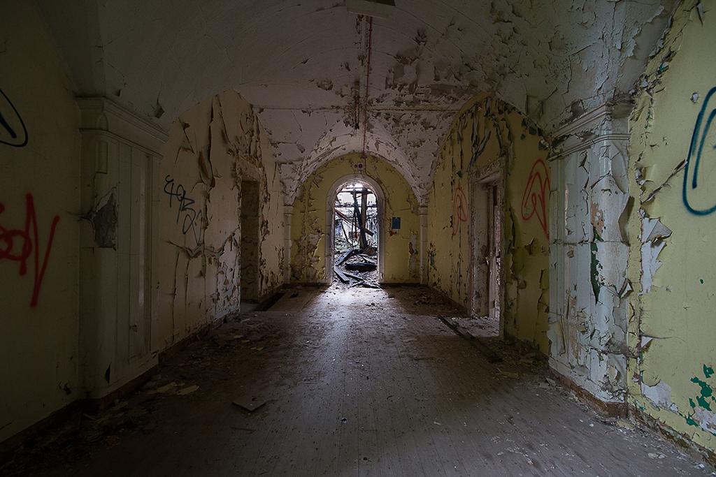 Unusual Arched Corridor