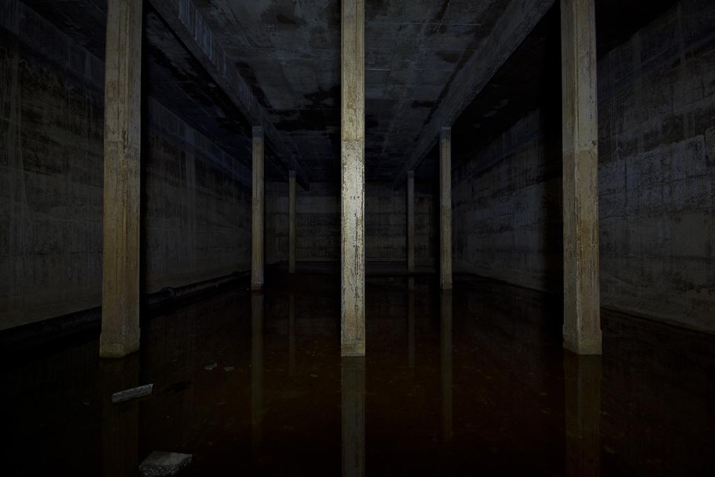 Inside, it's not a huge place.