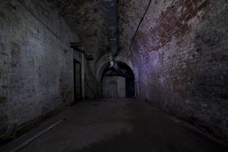 Long corridor.