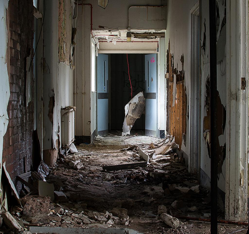 Dilapidated Corridor