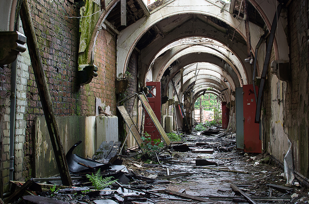 Main Spine Corridor