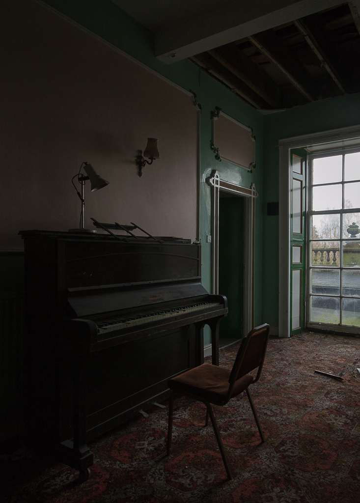 One of the many pianos.
